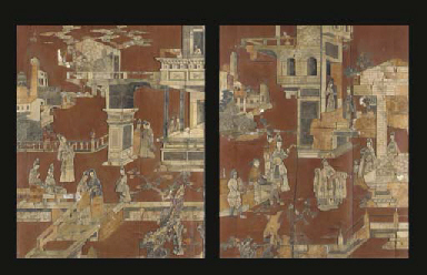 TWO UNUSUAL CHINESE SOAPSTONE-