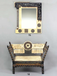 A VELLUM-COVERED INLAID AND AP