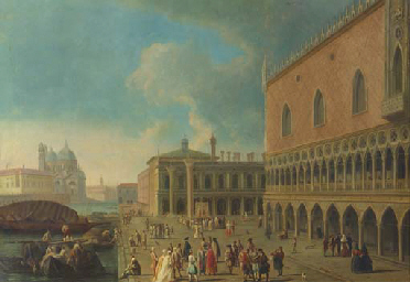 The Doge's Palace and the Piaz