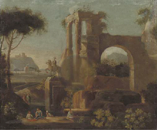 An Italianised landscape with