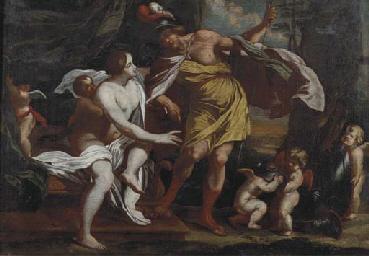 Mars and Venus and putti playi