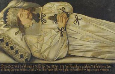 The deathbed of Ernst van Elte