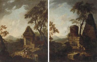 A Classical landscape with rui