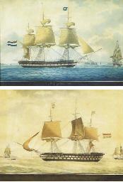 Z.M. Fregat Rhyn approaching a