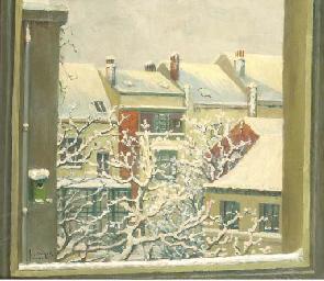 Winter vanuit mijn atelier: vi