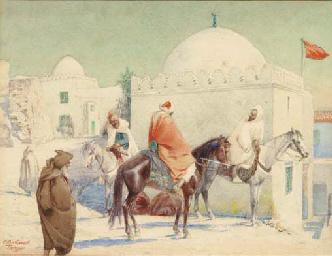 Horseman in Tanger