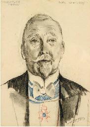 Voorstudie portret Burgemeeste