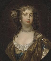 Portrait of a lady, possibly B