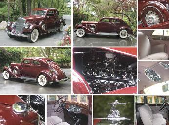 1935 PIERCE-ARROW MODEL 1245 S