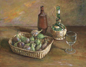 Still Life with Figs, Milton,