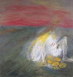 Nebuchadnezzar Sitting on Gold