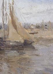 Boating Scene (Marseilles)