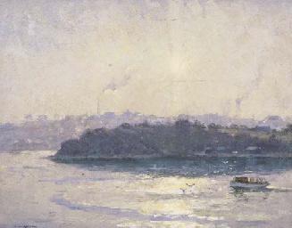The Setting Sun, Sydney Harbou