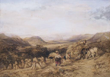 Harvesting in the Highlands