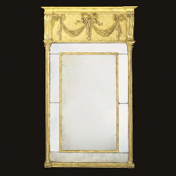 AN IRISH REGENCY GILTWOOD PIER