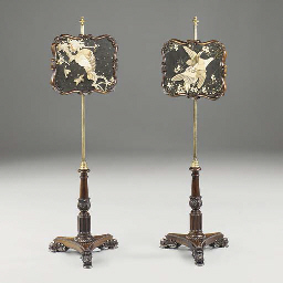 A PAIR OF WILLIAM IV GONCALO A