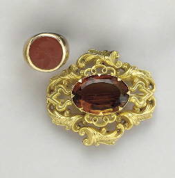 A GROUP OF GEM-SET, GOLD AND G
