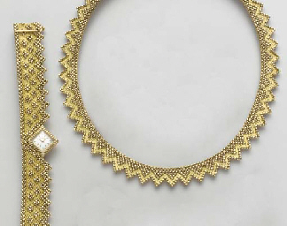 A SUITE OF 18K JEWELRY, BY GUB