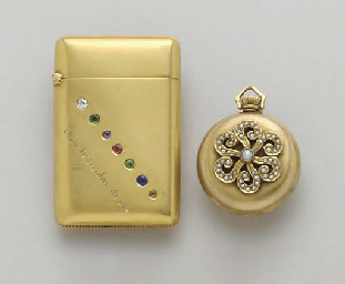 A GROUP OF GOLD AND GEM-SET AC
