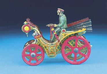 An early Meier flywheel-drive