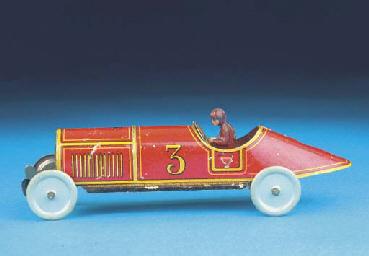 A Georg Fischer Racing Car