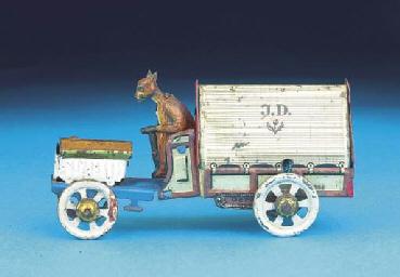 A Distler Motor Lorry with Kan
