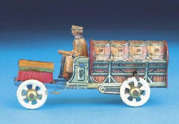 A Distler flywheel-drive Barre