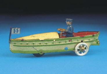 A Distler Speedboat No. 14