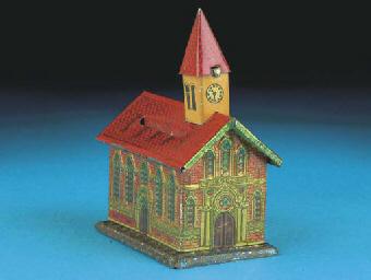 A German Gothic Church Savings