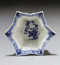 A Worcester blue and white sha