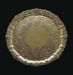 A GEORGE IV IRISH SILVER-GILT