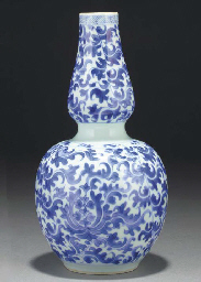 A Chinese double gourd shaped