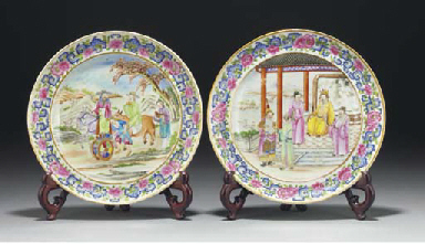 Two Cantonese dishes, early 19