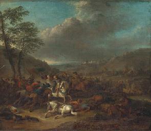 A cavalry battle between Chris