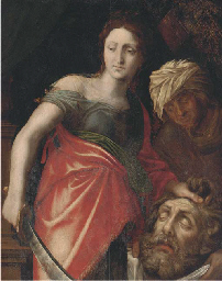 Judith with the head of Holofe