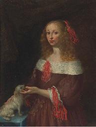 Portrait of a lady, three-quar