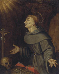 The Ecstacy of Saint Francis