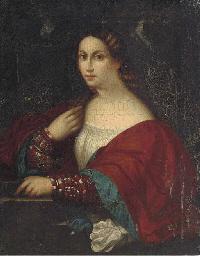 Portriat of a lady, half-lengt