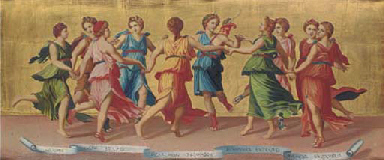Apollo and the Nine Muses