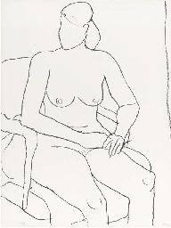 Seated Nude