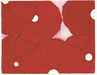 Six Red Flowers October 28 199
