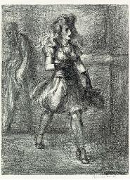 Girl Walking (Elevated) (Sasow