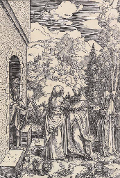 The Visitation, from The Life