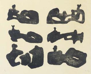 Six Reclining Figures (C. 49)