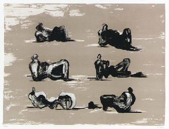 Six Reclining Figures (C. 353)