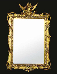 A GILTWOOD AND COMPOSITION PIC