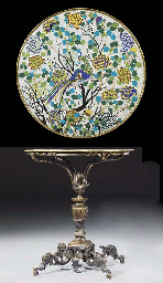 A French Chinoiserie style par