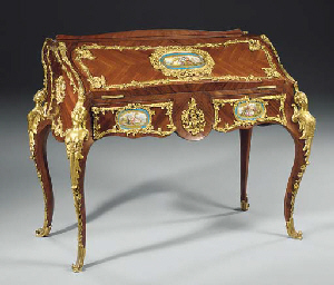 A Louis XV style ormolu and Se