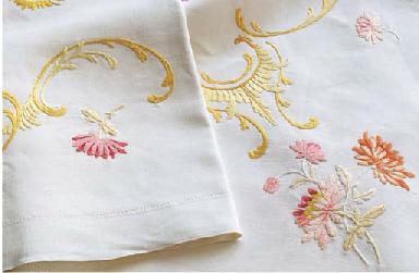 A silk-stitch