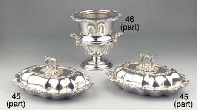 (11) A collection of silver an